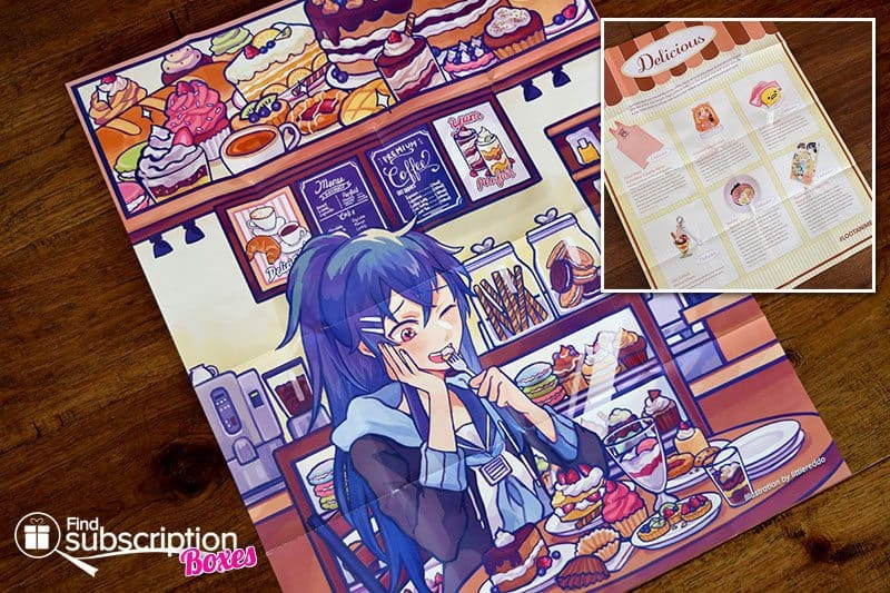 October 2016 Loot Anime Review - Delicious Crate - Poster