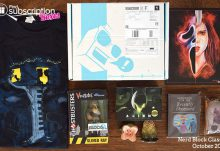 October 2016 Nerd Block Classic Review - Box Contents