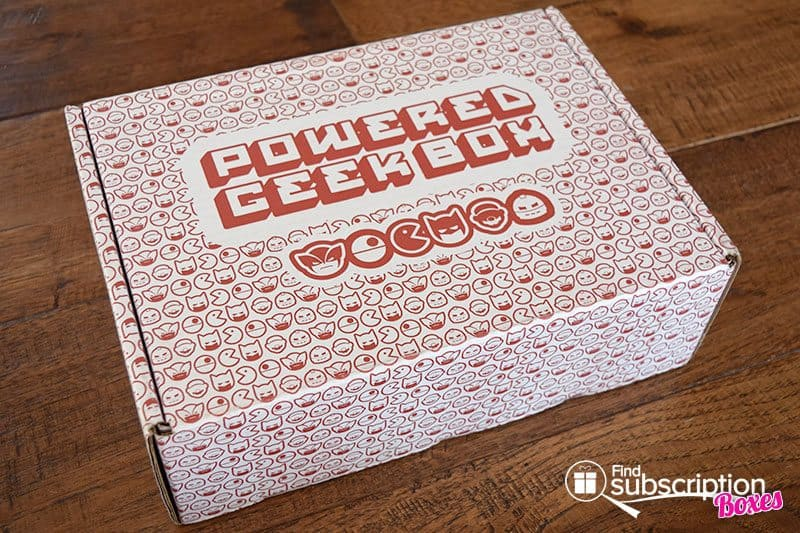 Powered Geek Box October 2016 Review - Box