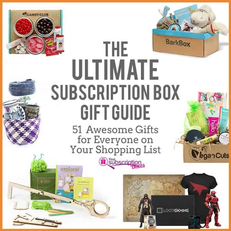 The Ultimate Subscription Box Gift Guide