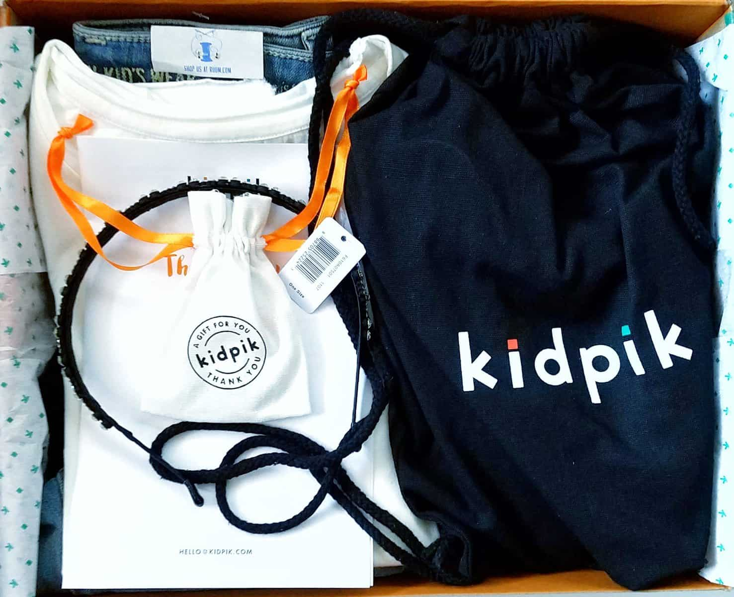 Kidpik December 2016 Review - First Look