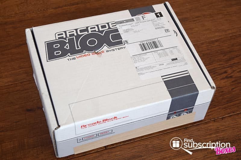 December 2016 Arcade Block Review - Box