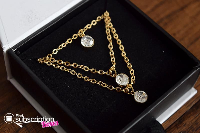 Cate & Chloe VIP Box December 2016 Review - Melody Layered Necklace