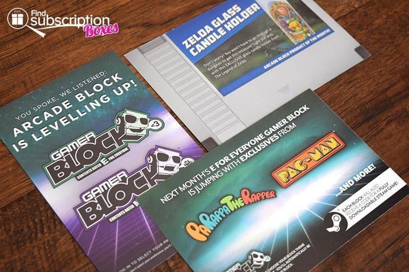 December 2016 Arcade Block Review - Cards