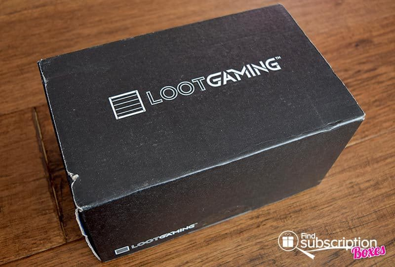 December 2016 Loot Gaming Review - Space Crate - Box