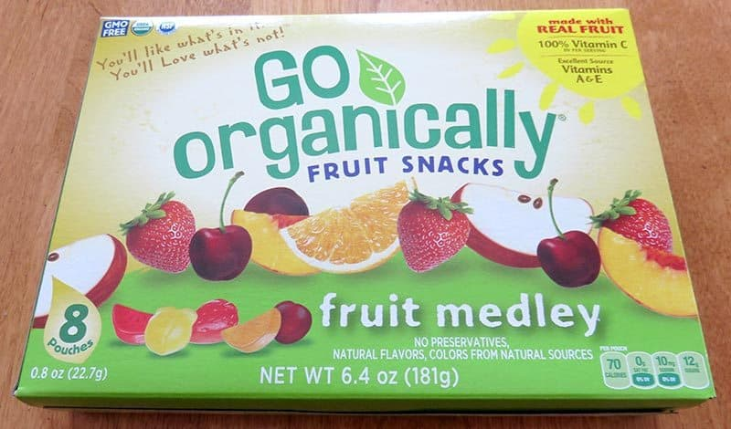 Degustabox January 2017 Review - Go Organically Fruit Snacks