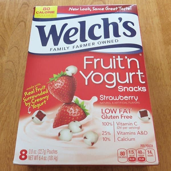 Degustabox January 2017 Review - Welch's Fruit n' Yogurt
