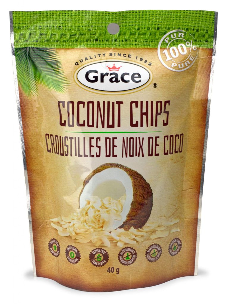 Degustabox February 2017 Spoiler - Grace Coconut Chips