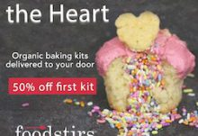 FoodStirs Valentine's Day Sale - Save 50% Off