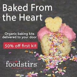 FoodStirs Valentine's Day Sale - Save 50% Off