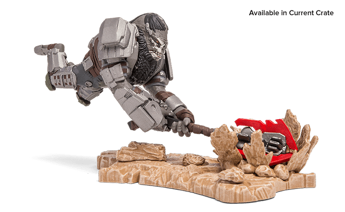 Halo Legendary Crate February 2017 Box Spoiler - Atriox and the Banished Halo Icons Figure