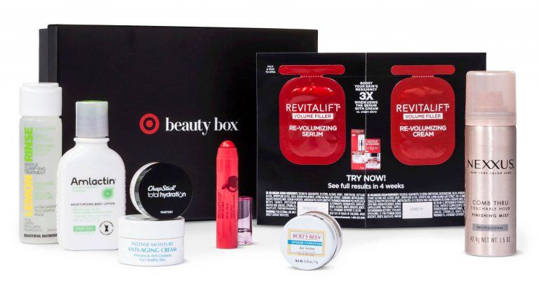 January 2017 Target Beauty Box 1