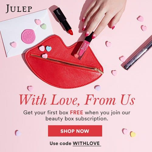 Julep Maven Free Valentine Welcome Box