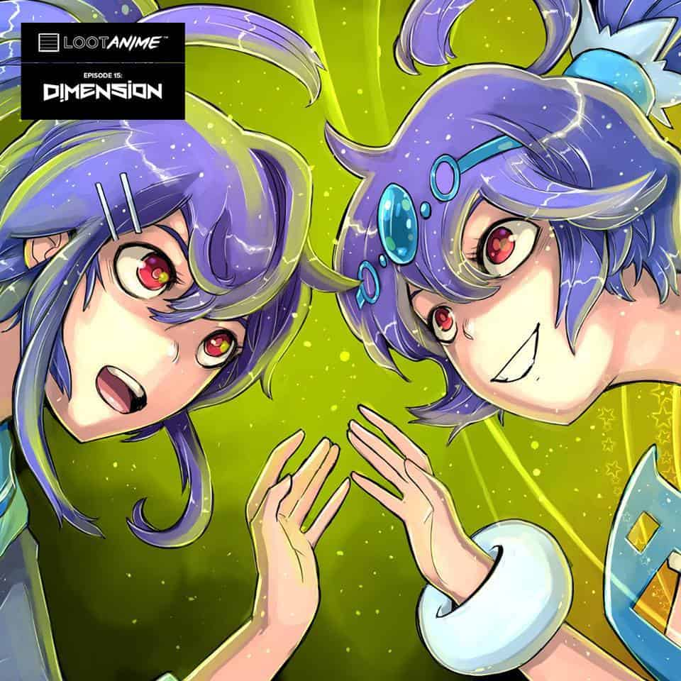 Loot Anime January 2017 Theme - Dimension