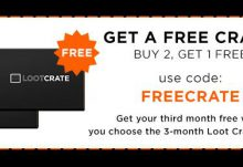Loot Crate Free Box Offer