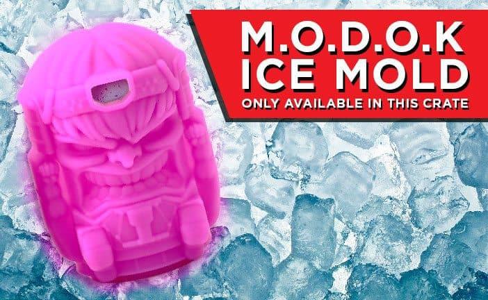 Loot Crate Marvel Gear + Goods January 2017 Box Spoiler - M.O.D.O.K Mold