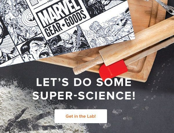 Loot Crate Marvel Gears + Goods January 2017 Theme - Super Science