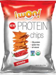 Love With Food February 2017 Box Spoiler - iWon! Organics Protein Chips