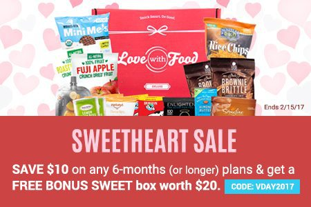 Love With Food Valentine's Day Sale