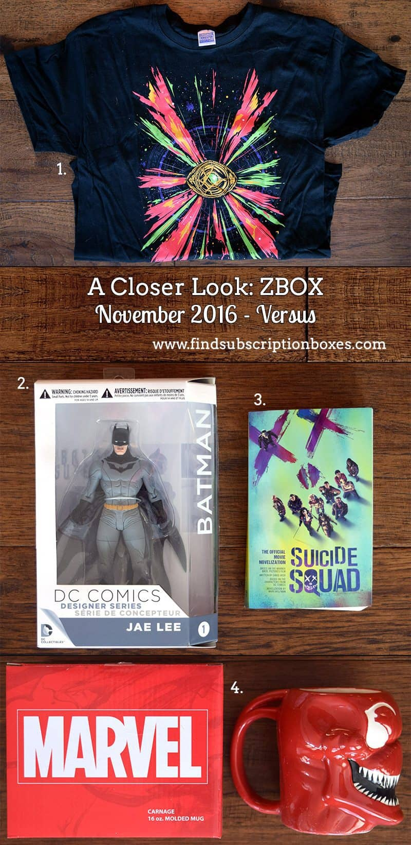 November 2016 ZBOX Review - Versus - Inside the Box