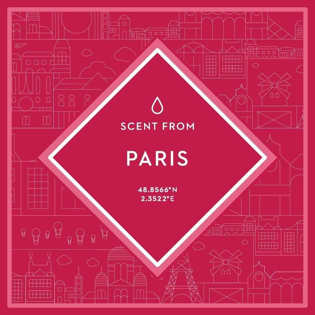 Scent From February 2017 Theme - Paris