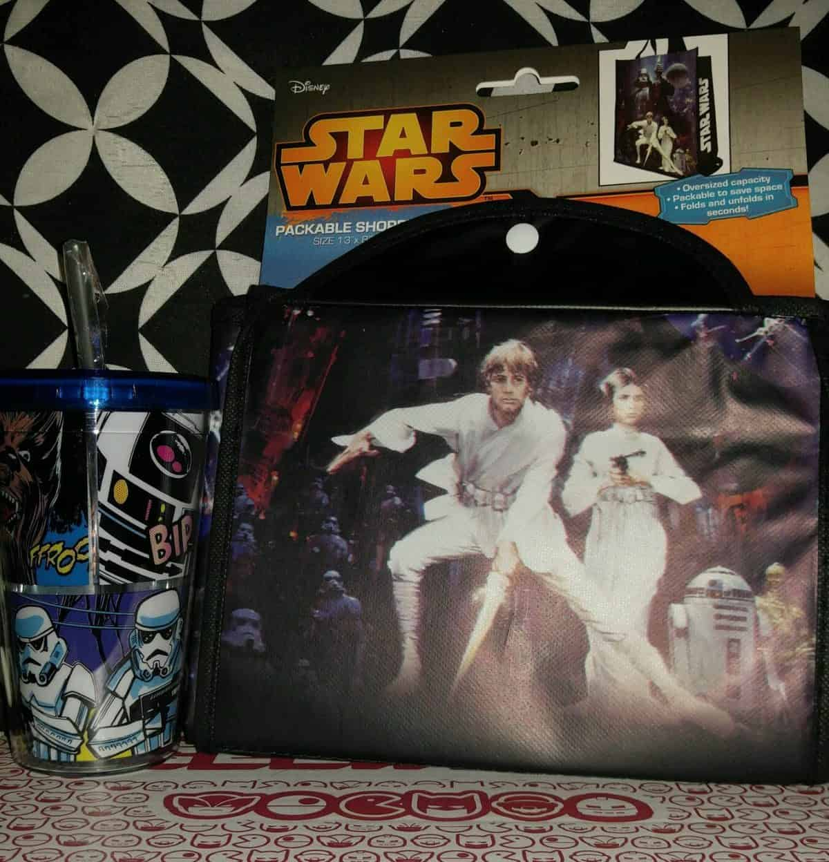 December 2016 Powered Geek Box Review - Star Wars Tote & Cup