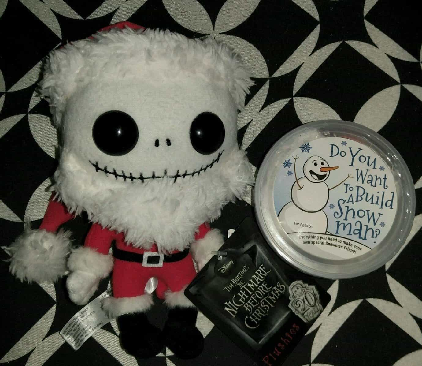 December 2016 Powered Geek Box Review - Nightmare Before Christmas Plushie