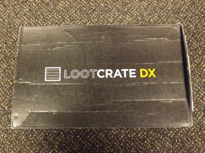 January 2017 Loot Crate DX Review - Origins Crate - Box Contents