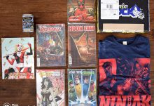 December 2016 Comic Block Review - Box Contents