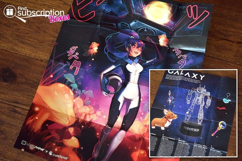 December 2016 Loot Anime Review - Poster
