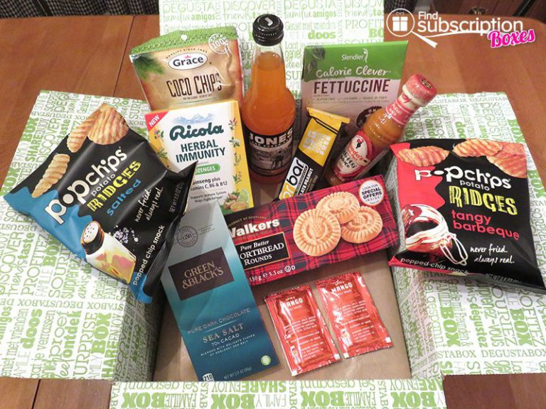 Degustabox February 2017 Review - Box Contents