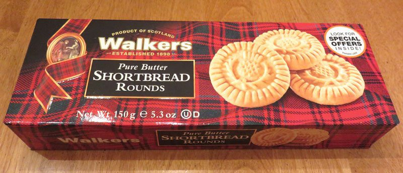Degustabox February 2017 Review - Walkers Shortbread Rounds