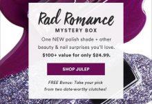 February 2017 Julep Maven Rad Romance Mystery Box