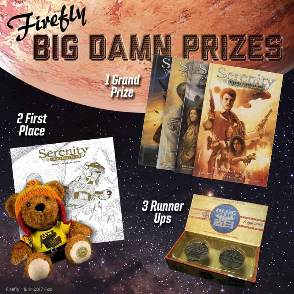 Firefly Cargo Crate March 2017 Prizes