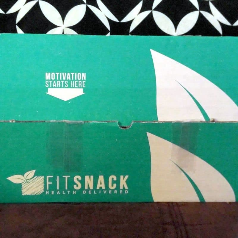 January 2017 Fit Snack Review - Box