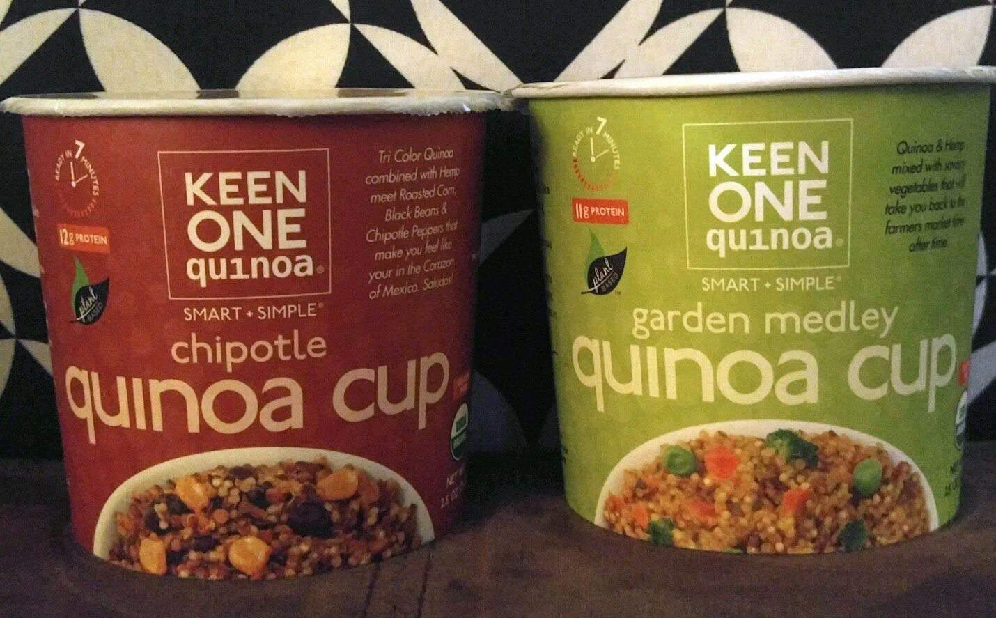 January 2017 Fit Snack Review - Keen One Quinoa