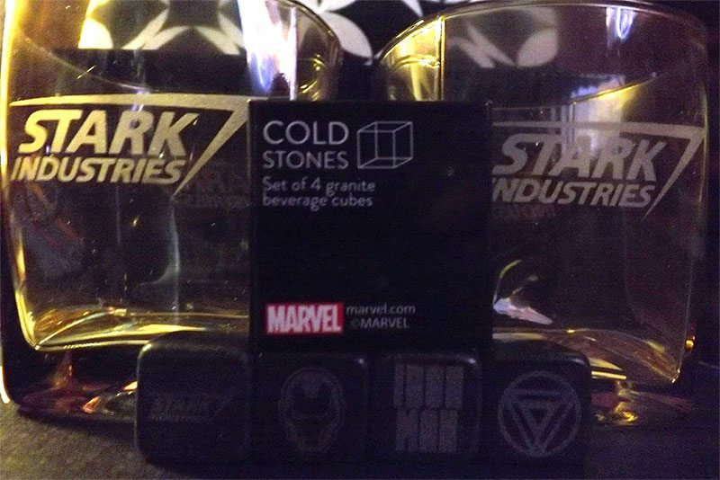January 2017 Nerd Block Classic Review - Stark Industries - Cold Stones