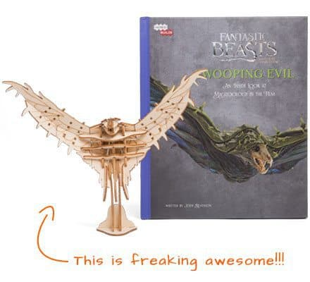 February 2017 Loot Crate DX Box Spoiler - Swooping Evil Incredibuilds