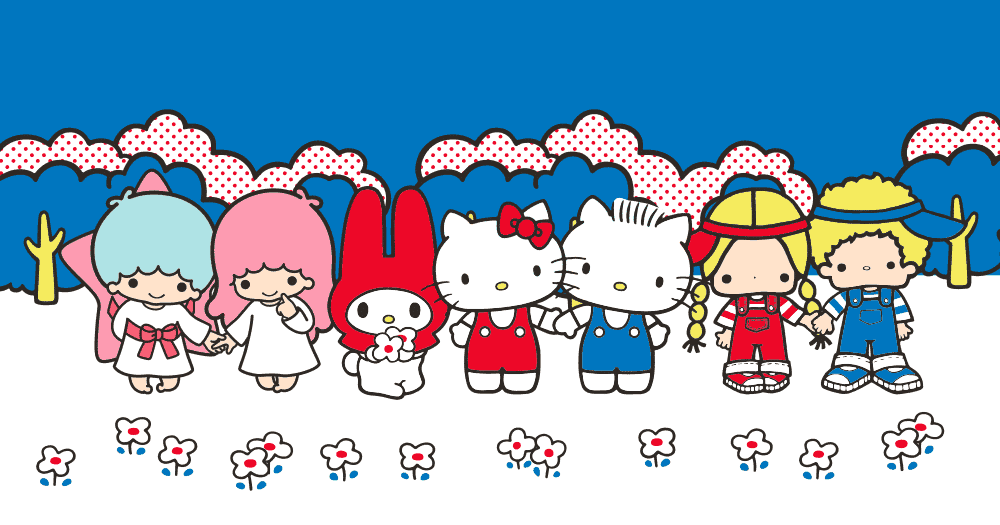"""Loot Crate Sanrio """"Small Gift"""" Crate March 2017 Theme - Friendship"""