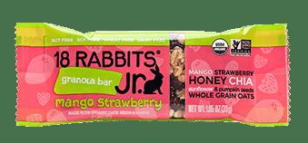 Love With Food March 2017 Box Spoiler - 18 Rabbits Jr. Granola Bar