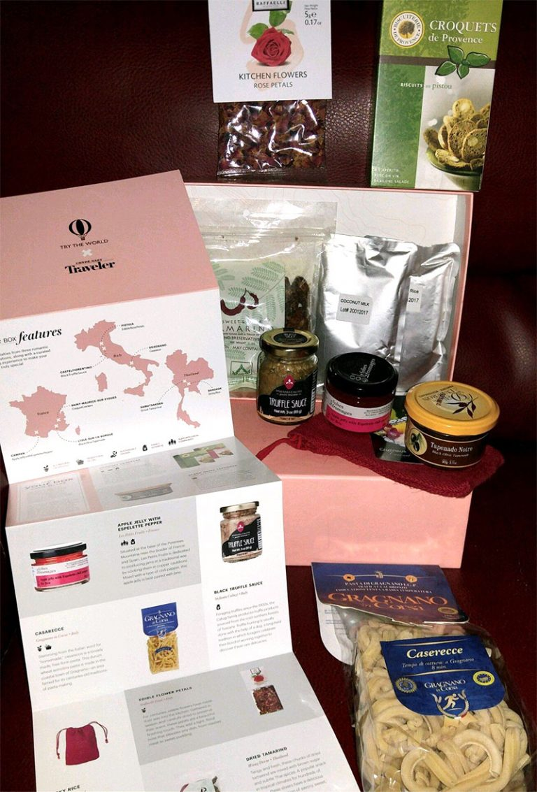 Try The World x Condé Nast The Amour Box Review - Box Contents