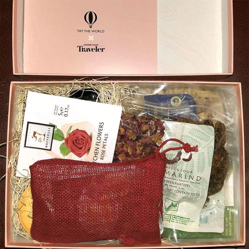 Try The World x Condé Nast The Amour Box Review - First Look