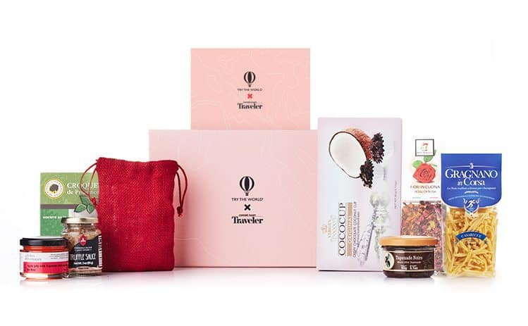 Try The World x Conde Nast The Amour Box