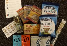 February 2017 Fit Snack Review - Box Contents