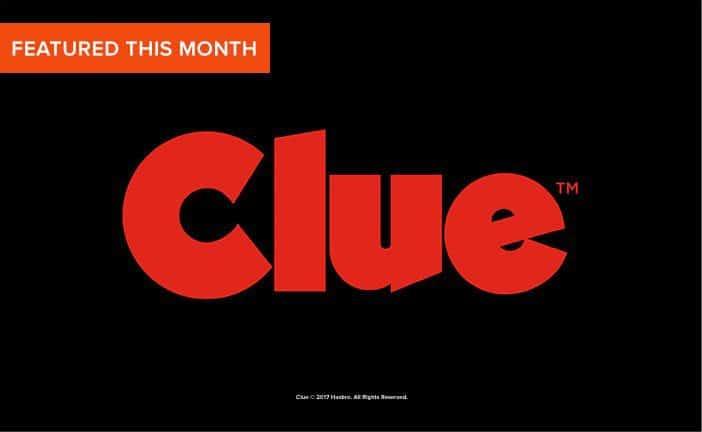 April 2017 Loot Undies Spoiler - Clue