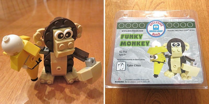 Brick Loot January 2017 Review - Funky Monkey