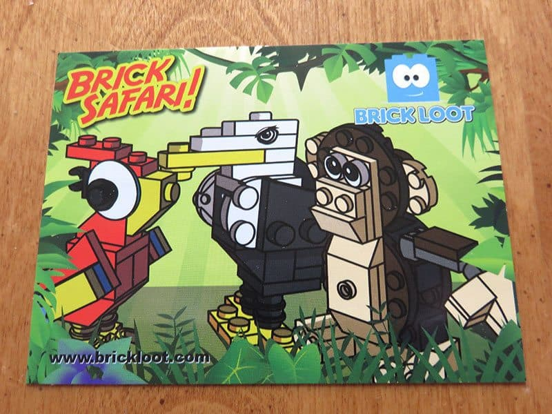 Brick Loot January 2017 Review - Brick Safari Sticker