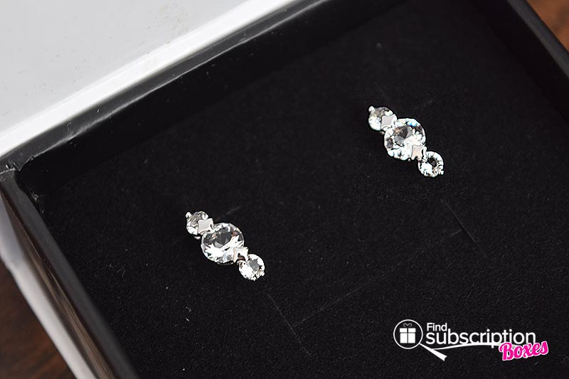 Cate & Chloe VIP Box March 2017 Review - Swarovski Earrings