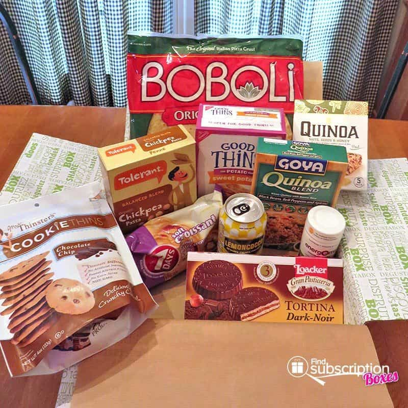 March 2017 Degustabox Review - Box Contents