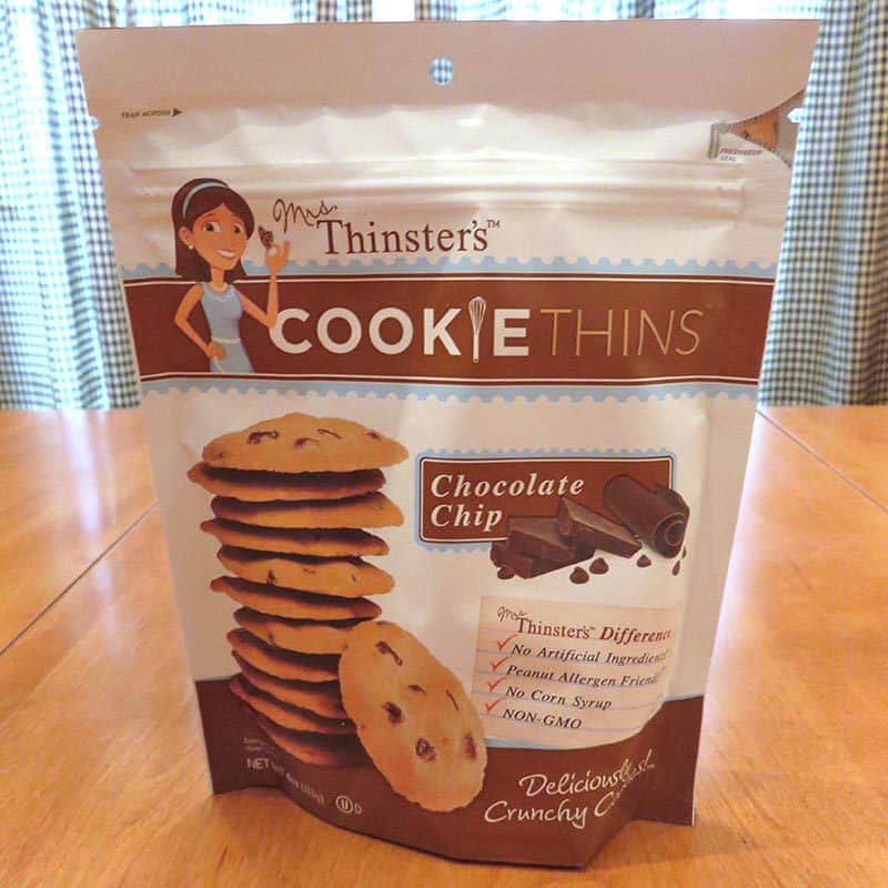 March 2017 Degustabox Review - Mrs. Thinsters Cookie Thins